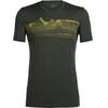 Icebreaker Tech Lite SS Crewe Shirt Men pyrenees kale